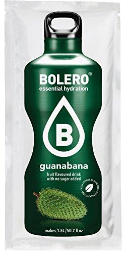 Pack 12 Sobres Bolero Drinks Sabor guanabana