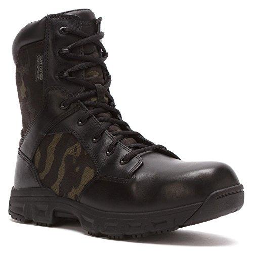 Bates Men's Code 6 Multicam 8 Inch Waterproof S Zip Waterproof Boot