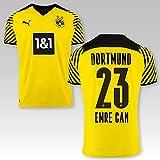 PUMA BVB Heimtrikot Kinder Saison 2021/22, Größe:176, Spielername:23 Emre Can