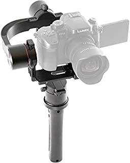 Pilotfly H2 3-Axis Handheld Gimbal for Sony A7 Cameras with 32Bit Alexmos with Triple-MCU Technology (Black)