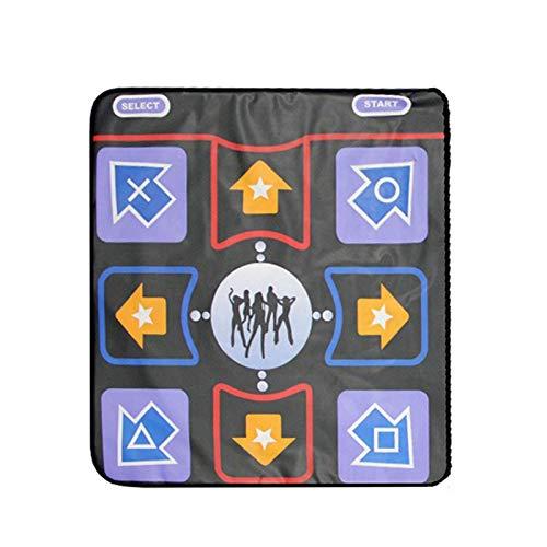 Wavel Tanzmatte, rutschfeste, hochempfindliche, verkabelte USB-Port-Tanzmatte mit TF-Karte, Tanzspielgeschenk für PC und TV