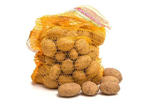 Premium Speisekartoffel Belana 25 kg im Sack, festkochend, gelbgoldene Salzkartoffel - Kartoffel aus dem Niederrhein, ideal für Kartoffelsalat, Kartoffel Gratin, Pommes Frites, Bratkartoffel