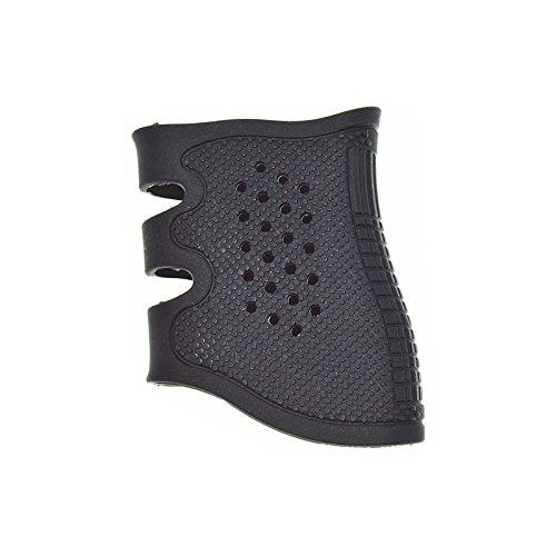 Fireclub Glock Tactical Rubber Grip Handschuh/Sleeve Glock GE4 17, 19, 23, 20, 21, 22, 31, 34, 35, 37 schwarz, Schwarz
