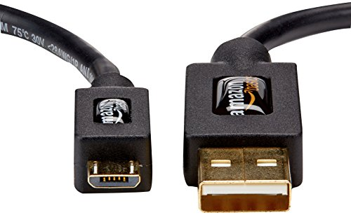 『Amazonベーシック USB2.0ケーブル 0.9m (タイプAオス- マイクロタイプBオス)』の1枚目の画像
