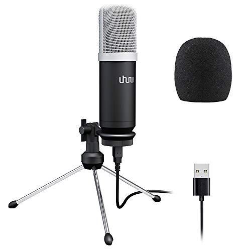 günstig USB-Mikrofon für PC, Studio UHURU 192KHz / 24-Bit-Nierenkondensator-Aufnahmemikrofon… Vergleich im Deutschland