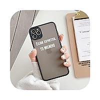 ロシアの手紙耐衝撃電話ケース For iphone 11 プロマックス 12 ミニ XS 最大 7 8 プラス SE 2020 X XR-T2-For iphone 11
