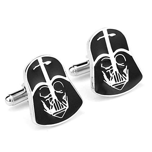 Geek & Glitter Star Wars Darth Vader Cufflink Set Box | The Last Jedi Gifts, A New Hope, Gifts for Men (Darth Vader)