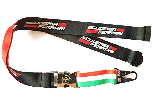 Unbekannt Offizielle Formula 1 Merchandise - Ferrari - Schlüsselband - Schwarz/Red