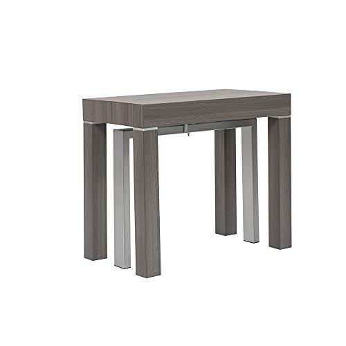 Tuoni Regolo Tavolo Consolle, Legno, Grigio, 250x90x75 cm