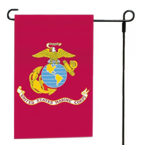 Valley Forge, Marine Corps Garden Flag, Nylon, 12'x18', 100% Made in America, Printed, Sleeved Garden Flag