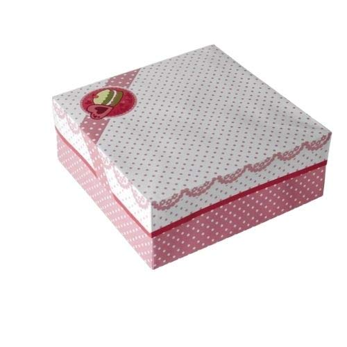 Orange85 Taartdoos - Taartdoos - Serveerdoos - Opbergdoos - Cakedoos - Taartdoos Bewaardoos - Opbergbox - Opbergdoos met Deksel - Opbergdoosje - Bewaardoos met Deksel - Bewaardoos Cake