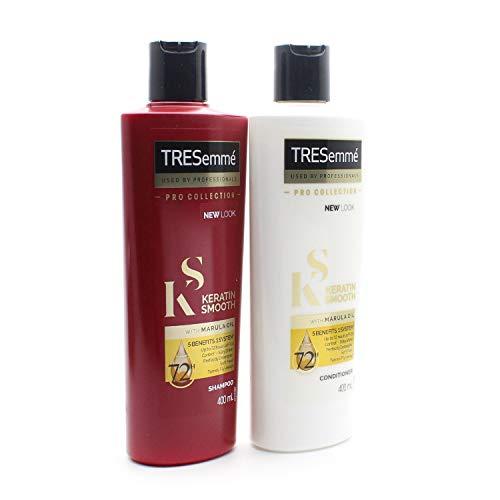 Tresemme Keratin Smooth Pro Kollektion Shampoo und Conditioner Set 2 x 400 ml