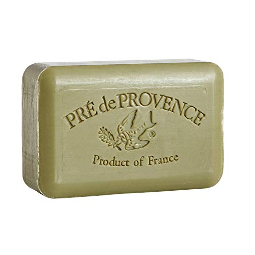 Pre de Provence Artisanal French Soap Bar Enriched with Shea Butter, Olive Oil, 250 Gram