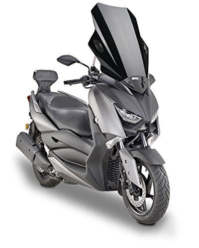 Parabrezza Moto Universale, Ampia Estensione per Parabrezza Deflettori Universale per Moto con kit di Montaggio per Manubrio da 7/8'22mm