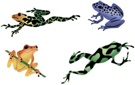 Max 58% OFF Los Angeles Mall The Mad Stencilist Rainforest Stencil; Wall Frogs TMS308