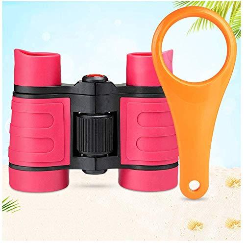 Binocular verrekijkers van 4x30 HD zijn het beste voor outdoor-campingtochten, wandelen, licht, compact, antifog en waterdicht.