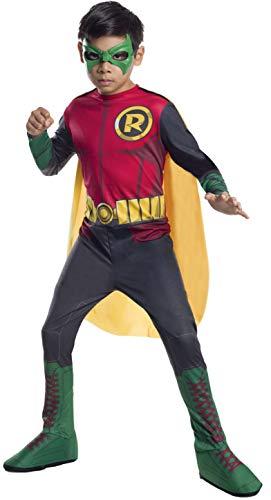 DC Superheroes Robin Costume, Child's Small