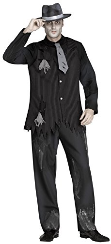 Chaks FW134604, Déguisement Ghost Gangster, adulte
