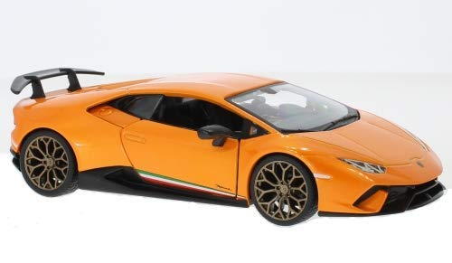 Lamborgihini Huracan Performante Coupe Orange Modell Ab 2014 Version Ab 2017 1/24 Bburago Modell Auto