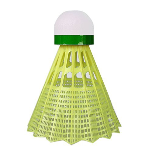 YONEX MAVIS 350 6er Dose Badminton Bälle Nylonshuttles rot blau grün M-350CP(gelb,GRÜN (langsam))