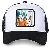 Anime Dragon Ball Z Dragonball Goku Patch Gorra de béisbol ajustable Casual HipHop Snapback (negro blanco)