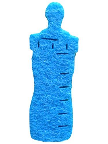 Bastel petra's-biberon News a-BFF 3804–47 décoratifs 100 x 40 mm, Feutre, Bleu Clair