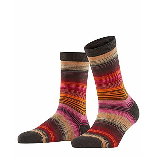 Burlington Damen Stripe W SO Socken, Braun (Brown 5930), 36-41 (UK 3.5-7 Ι US 6-9.5)