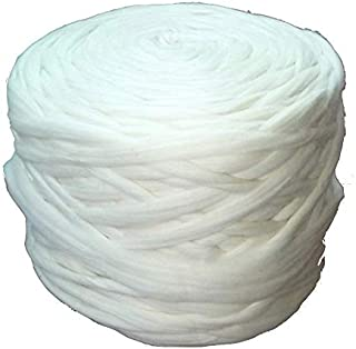 Wholesale Wool Roving Fiber Top 30 lb Roll Spinning, Felting, Chunky Knit Blanket, Chunky Yarn, Giant Yarn