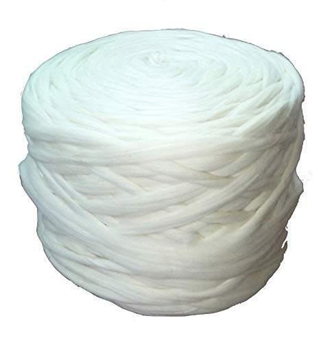 Wholesale Wool Roving Fiber Top 30 lb Roll Spinning, Felting, Chunky Knit Blanket, Chunky Yarn, Giant Yarn