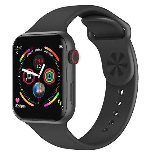AMBM Smart Watch Fitness Tracker, Touchscreen Smartwatch, Herzfrequenz-Monitor, Schlaf-Aktivitäts-Tracker, wasserdicht, Schrittzähler