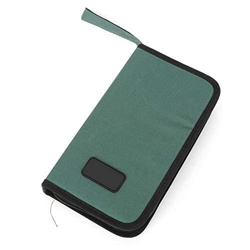 RTG-96 sac à outils solide tissu Oxford porteur sac de rangement confortable boîte à outils de rangement boîte à outils pour le stockage d'outils matériels(320 * 250 * 50mm)