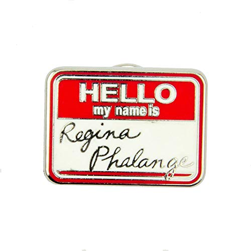 Paladone Anstecknadel Sitcom Friends Emaille – Hello My Name is Königin Phalange Products