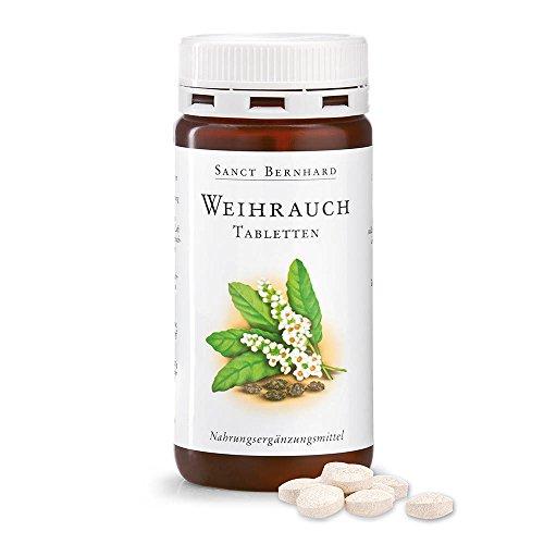 Sanct Bernhard Weihrauch-Tabletten mit 400 mg Weihrauchextrakt 180 Tabletten