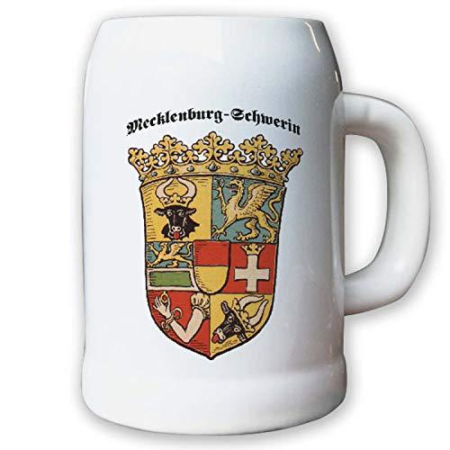 Krug/Bierkrug 0,5l - Freistaat Mecklenburg-Schwerin Weimarer Abzeichen #9456