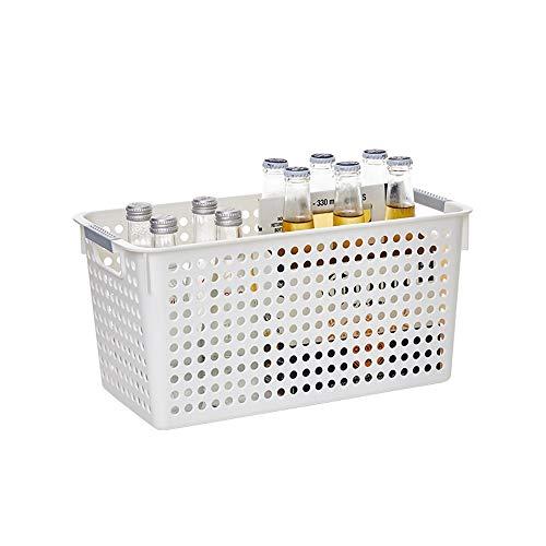 Kcakek Snack-cocina for guardar objetos cesta de plástico cesta del almacenaje de...