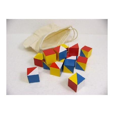 知育玩具 ニキーチン積木 模様作り 小 木のおもちゃ