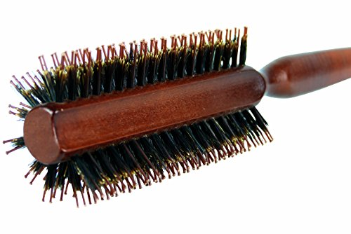 Brush Styling Essentials Half Round Style Natural Boar Bristles Light Wood Handle Hair Brushes The Classic 9 Row Buy Online In Kuwait At Desertcart Productid 21310867