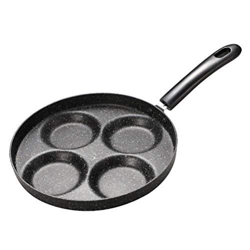 aedouqhr Sartén, 4 Tazas Sartén para Tortillas Sartén Antiadherente Huevo Panqueque Utensilios de Cocina Utensilios de Cocina