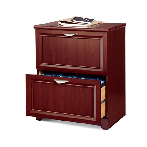 Realspace Magellan 24'W 2-Drawer Lateral File Cabinet, Classic Cherry