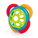 Oball Grasp & Teethe Easy-Grasp Teether, Ages 3 Months +