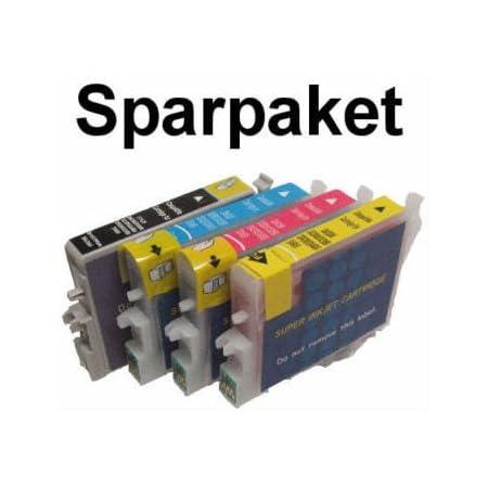 10 Kompatibel Patronen Für Epson Stylus Photo R240 R245 Rx420 Rx425 Rx520 Bürobedarf Schreibwaren