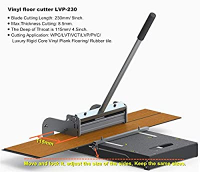 "MantisTol 9"" Pro LVT/VCT/LVP/PVC/WPC/Rigid Core Vinyl Plank Cutter LVP-230 ?Upgraded??Best buying!"