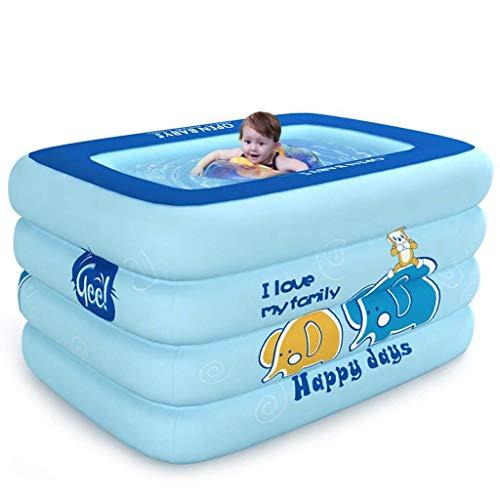 BBG Startseite Padded Wesentliche Badewanne, Schwimmen Eimer Familie Neugeborenes Swimmingpool aufblasbaren Swimmingpool 0-3 Jährig Verwenden Bad, bequeme Lagerung Badewanne