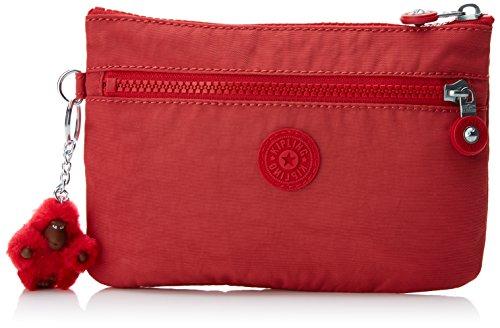 Kipling Ness, Bolso bandolera para Mujer, Rojo (Spicy Red C) 20.5x13.5x0.1 cm