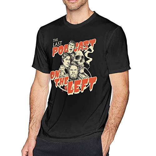 QDGERWGY Last Podcast On The Left Men's Short Sleeve t-Shirt Black