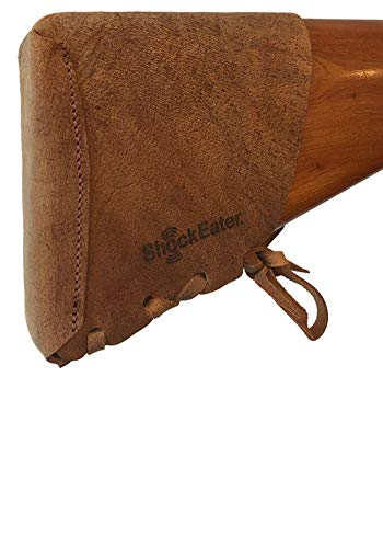 ShockEater Slip-On Recoil Pad Kit, Genuine Leather, Adjustable, Made in USA