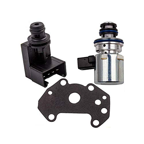 42RE 46RE Transmission Governor Pressure Sensor & Solenoid 56028196AD Replacement for Dodge Ram Jeep 2000 + 44RE 46RE, 47RE, 48RE A500 A518 A618 2000 & Up 56028196AA 56028196AB 56028196AC