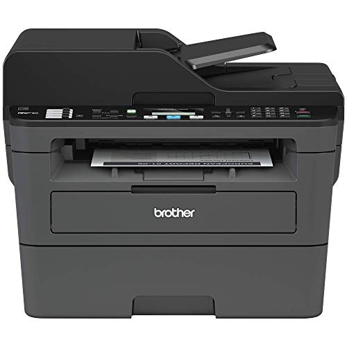 Brother Monochrome Laser Printer, Compact All-In One Printer, Multifunction Printer, MFCL2710DW, Wireless Networking and Duplex Printing, Amazon Dash Replenishment Enabled (Renewed)