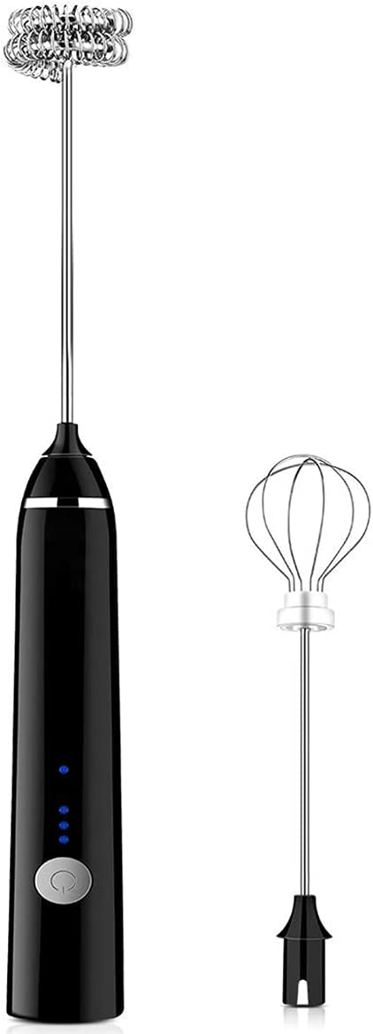 Electric Milk Frother 3-Speed Handheld Same day shipping Rechargeable Super special price Mi