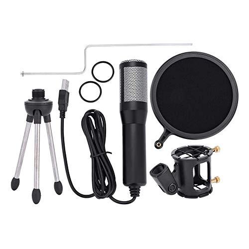 Microfone, Prevenir Pulverização de Ar, Microfone USB, Conveniente Proteger o Microfone, Plug and Play, Efetivamente Enter, para Skype Online Chatting Entrevistas MSN